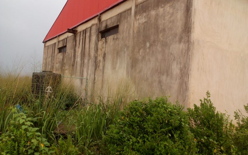 To Let: 2 No. Warehouses on Two Acre of Land. Location: along Lagos Ibadan Expressway, Asheshe, Mowe, Ogun state.