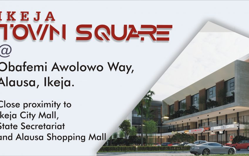 For Sale: Ikeja Town Square; Offices and shops of different square meters/sizes on different floor