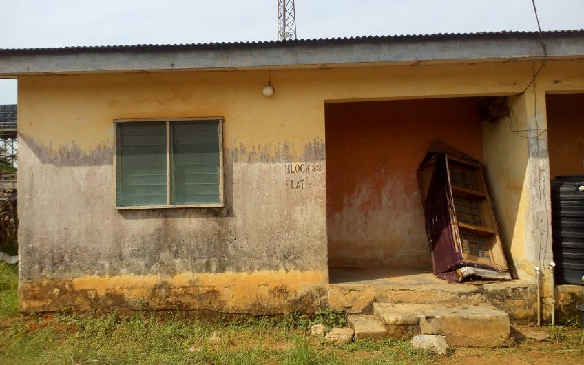 FOR SALE: 2 Wings of 2 bedroom semi-detached bungalow.