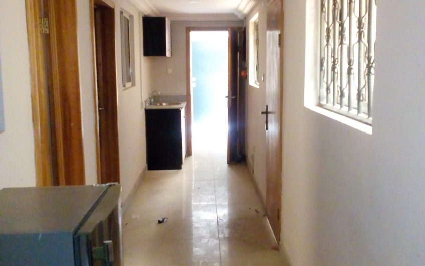 A well equipped 3bedroom office space with (CCTV camera, Fridge, Furniture etc.)