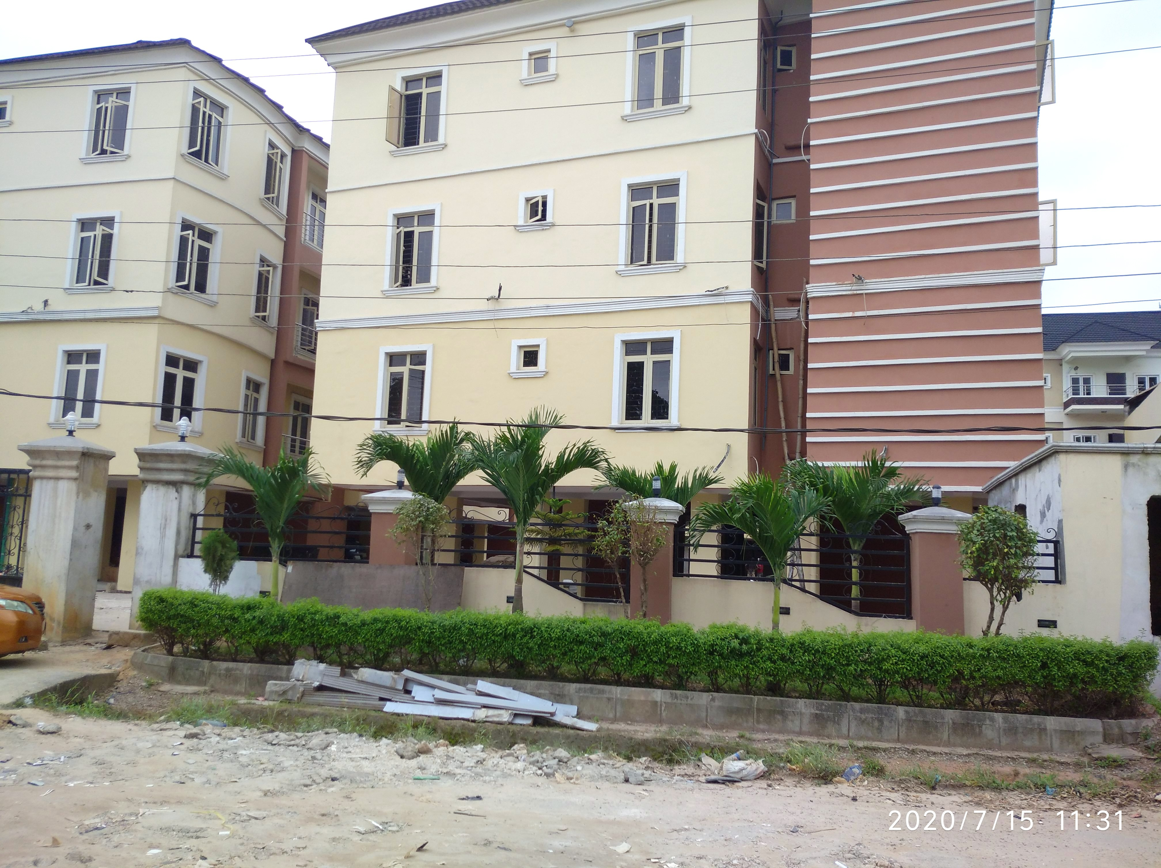 Newly Built, Tastefully Finished 2 No. 3 Bedroom Flat Within An Estate
